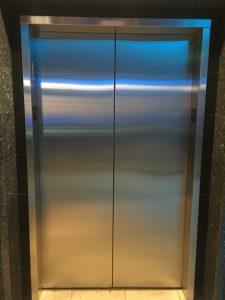 Stainless Steel Elevator Cab Refinishing
